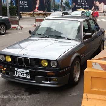 BMW E30 in Taipei Taiwan
