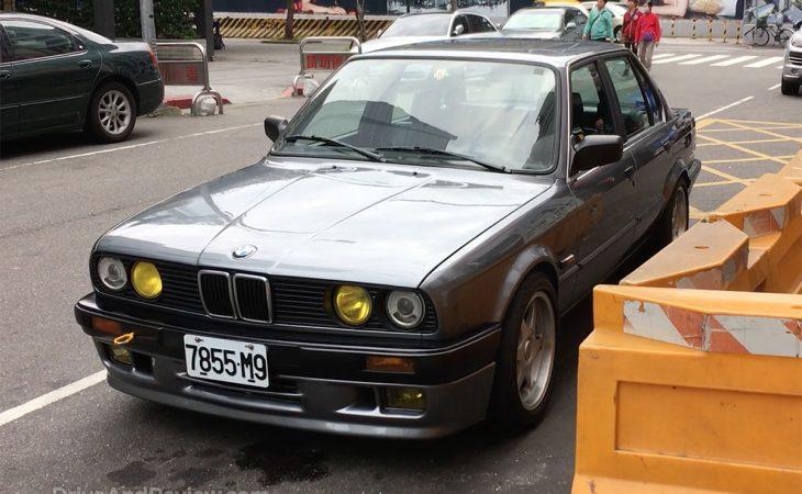BMW E30 in Taipei Taiwan