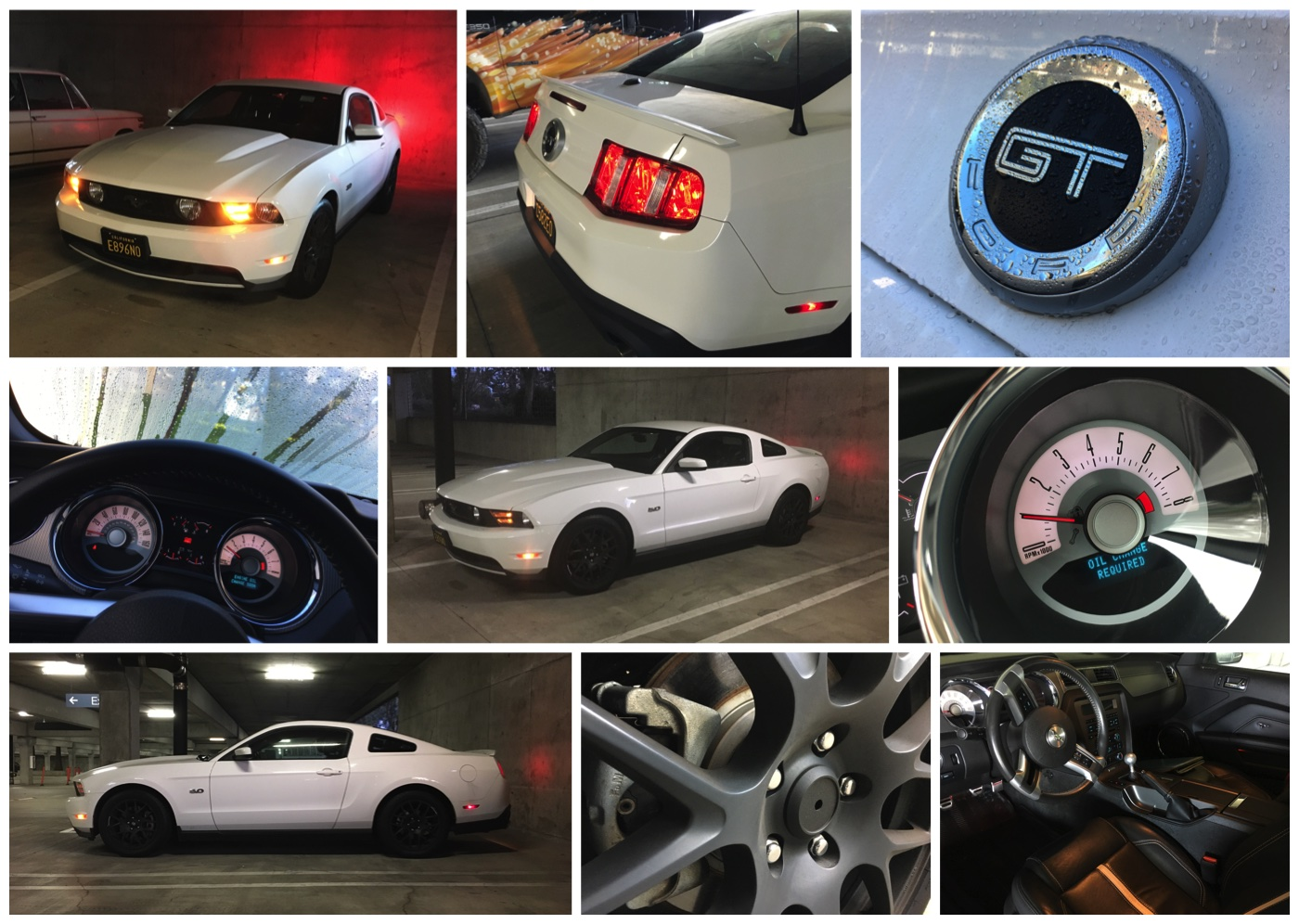 white 2012 Ford Mustang GT Premium