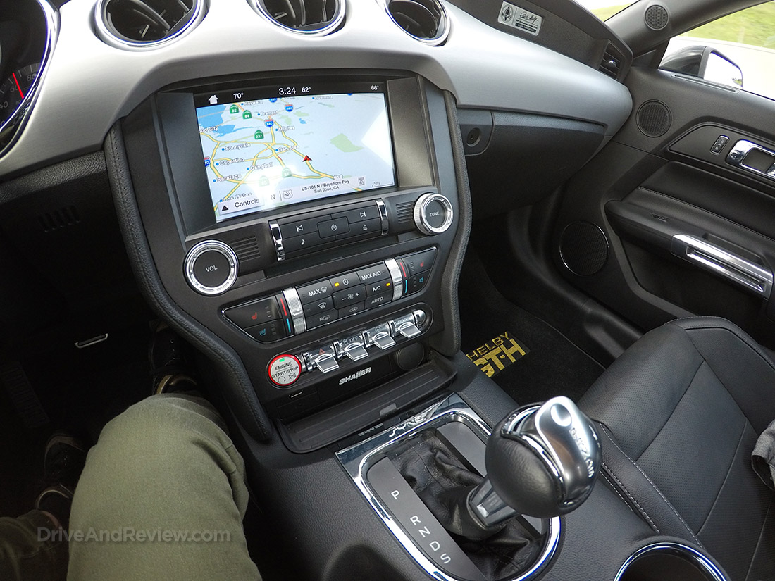 2016 Hertz Shelby GT-H interior