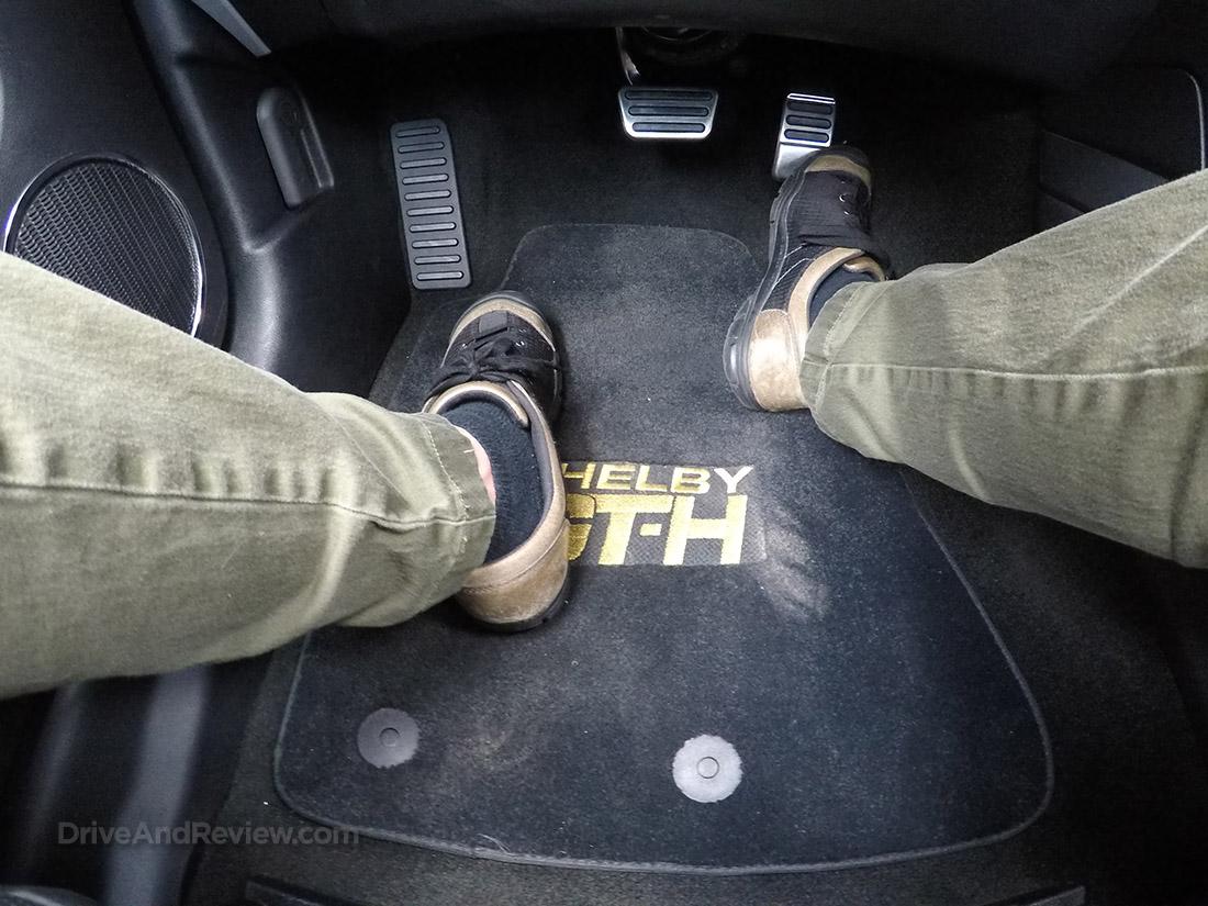 2016 Hertz Shelby GT-H floor mats