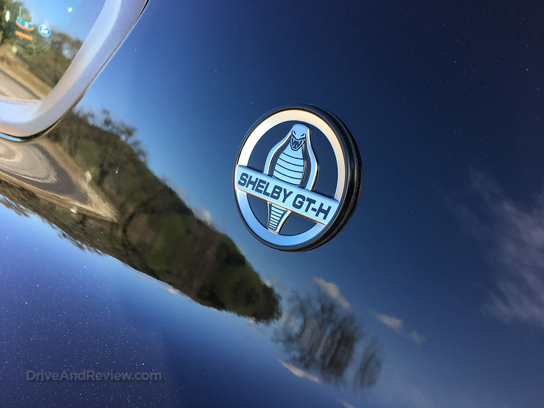 metal Shelby GT-H badges