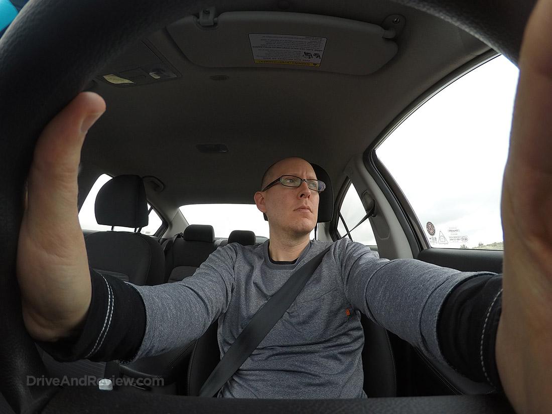 driving kia forte