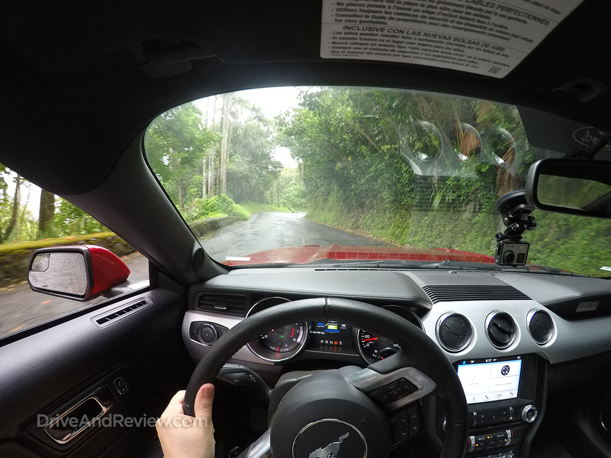 driving a 2016 v8 mustang