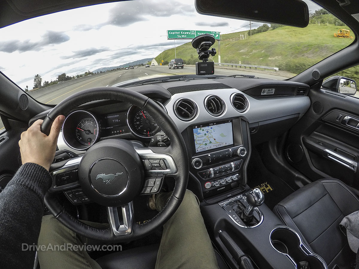 Driving a 2017 hertz Shelby Mustang