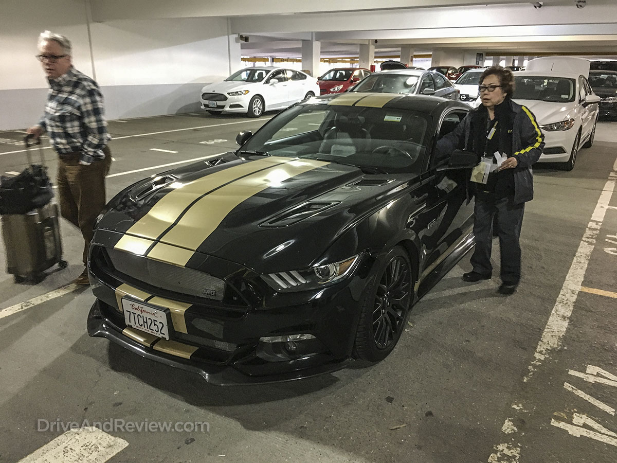 Returning Shelby Mustang to hertz