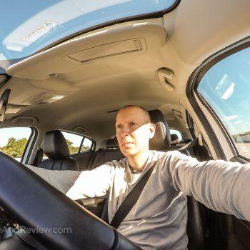 DriveAndReview selfie 2017 Mazda 3