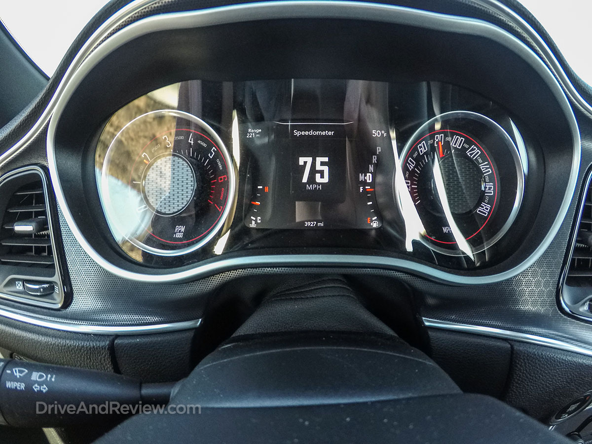 2018 Dodge Challenger R/T scat pack gauges