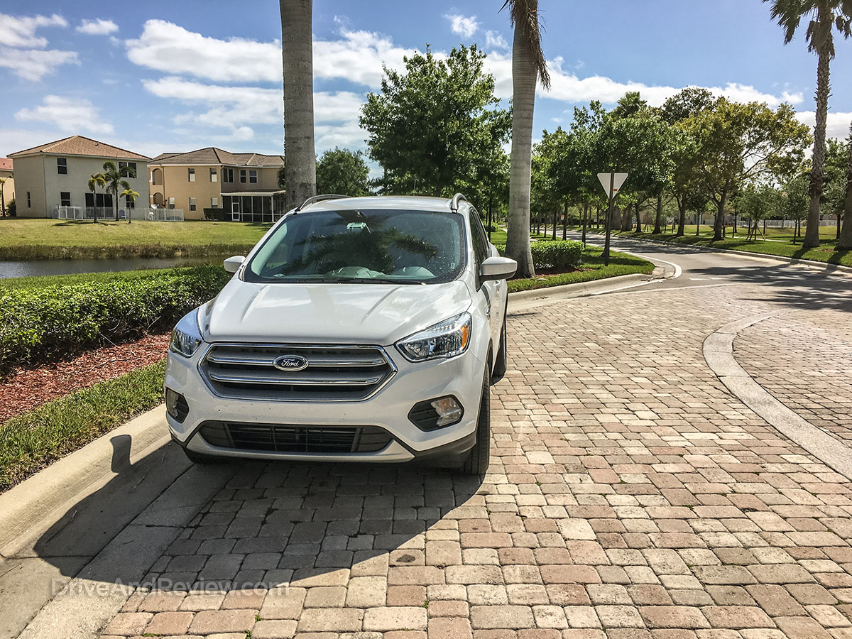 2018 ford escape front end redesign