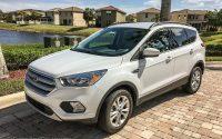 2018 ford escape white exterior