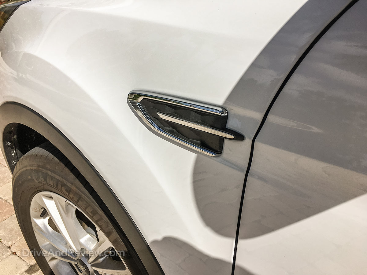 2018 ford escape fender vent