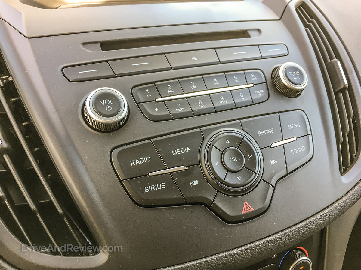 2018 ford escape entertainment system controls