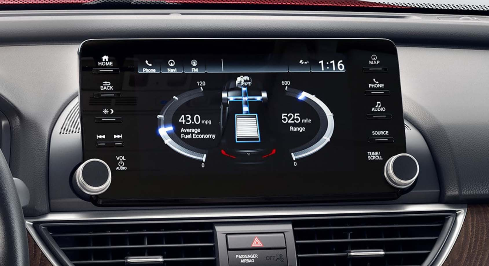 Honda Accord infotainment