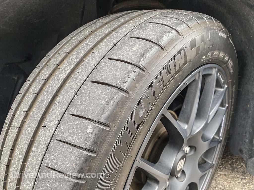 Michelin Pilot Super Sport wear