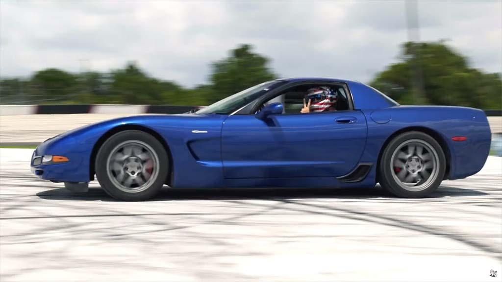 Cleetus McFarland c5 Corvette