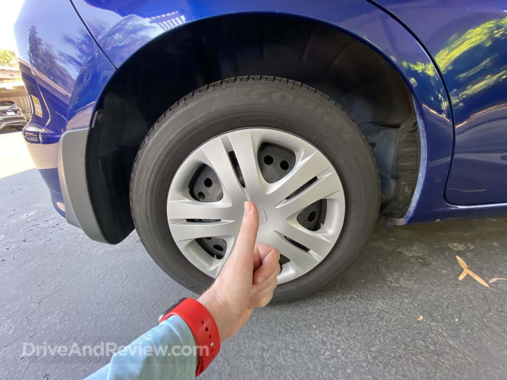 tires on a Honda Fit