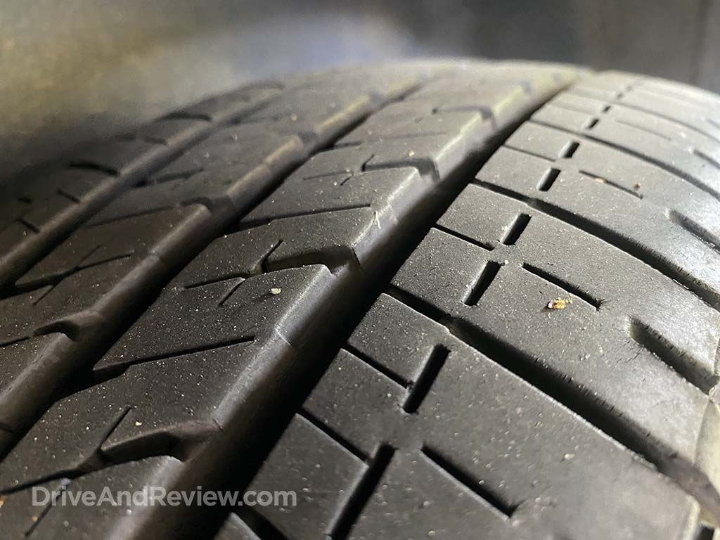 Bridgestone Ecopia tire tread