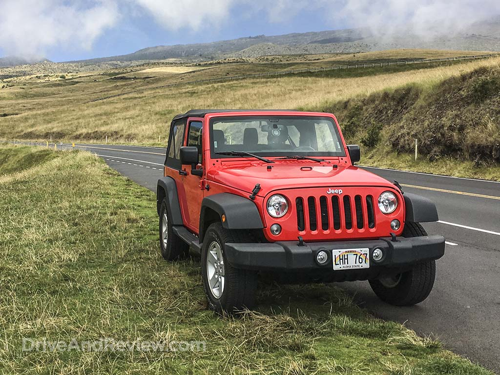 expensive red jeep
