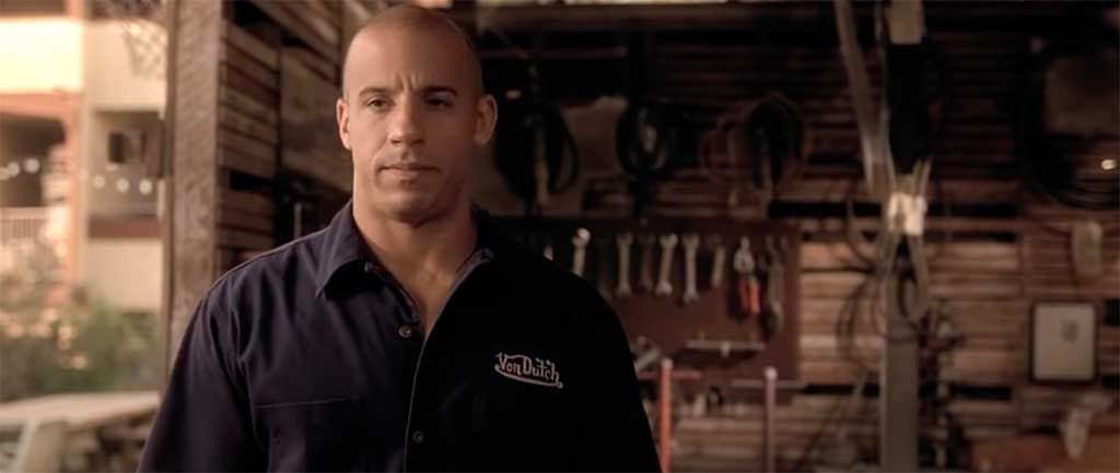 Fast and Furious I live my life a quarter mile at a time quote