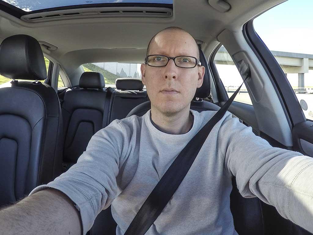 driving 2015 Audi A4