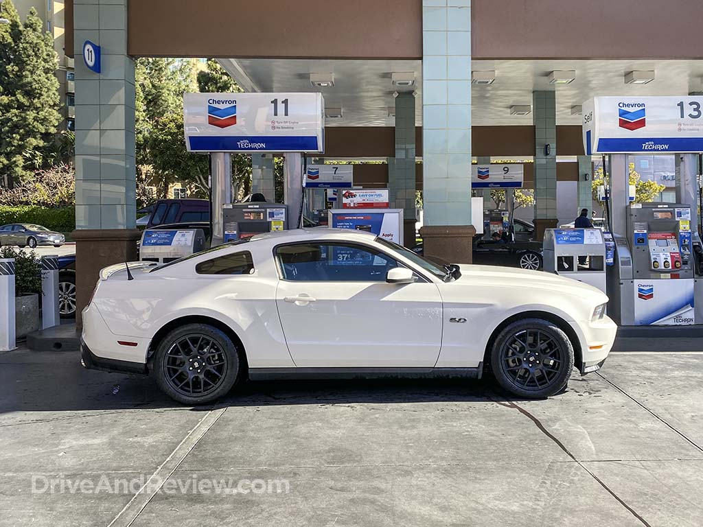 2012 Mustang GT smells like gas
