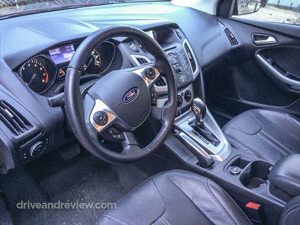 interior of the 2013 Ford Focus