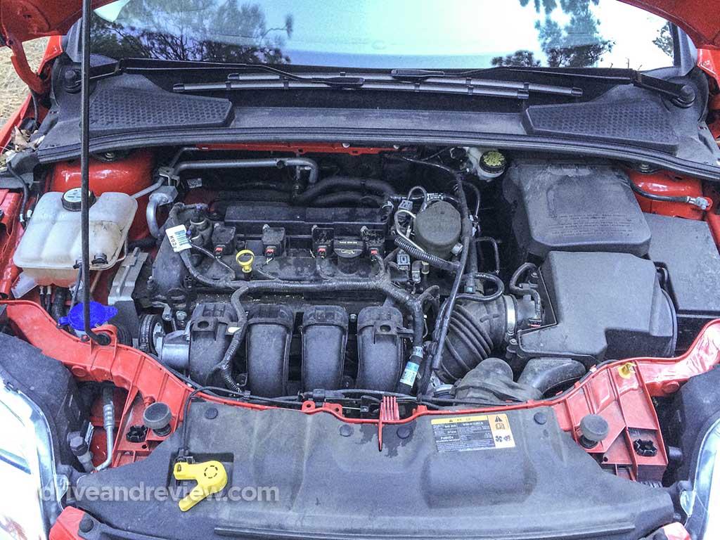 2013 Ford Focus engine