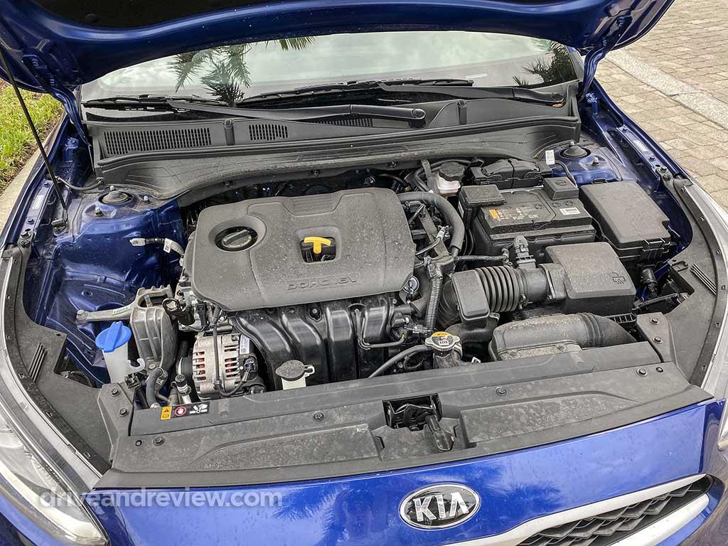 Kia Forte engine