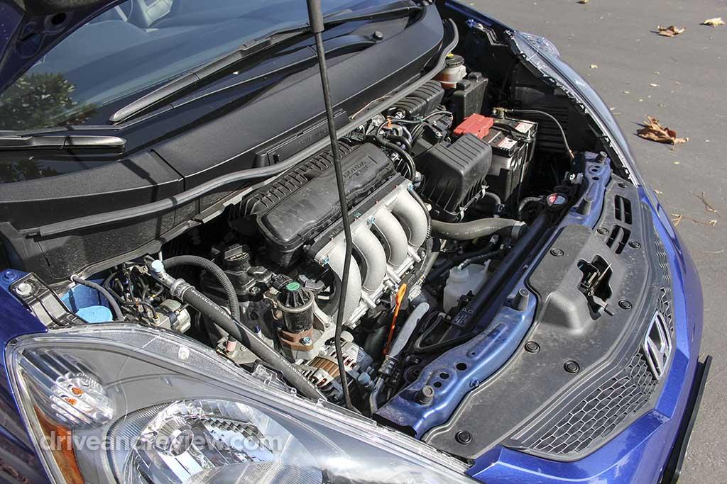 2010 Honda Fit engine
