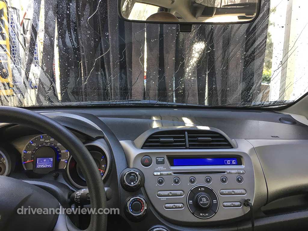 2010 Honda Fit car wash