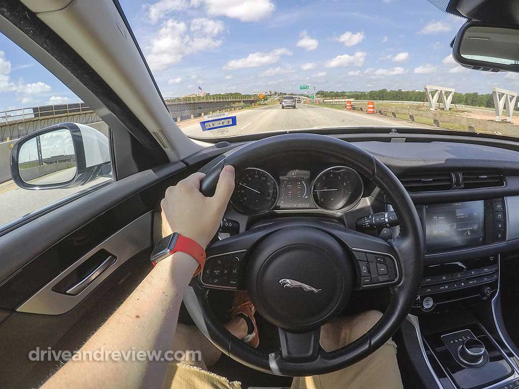 2018 Jaguar XF instrument cluster