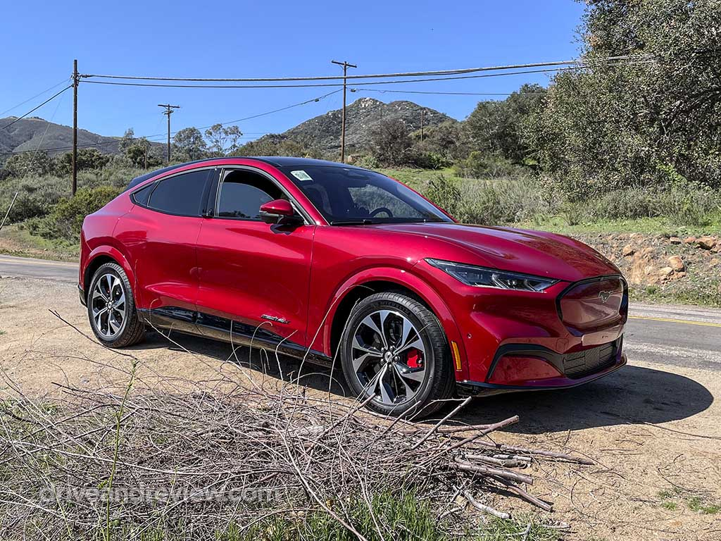 red 2021 mustang mach E first edition