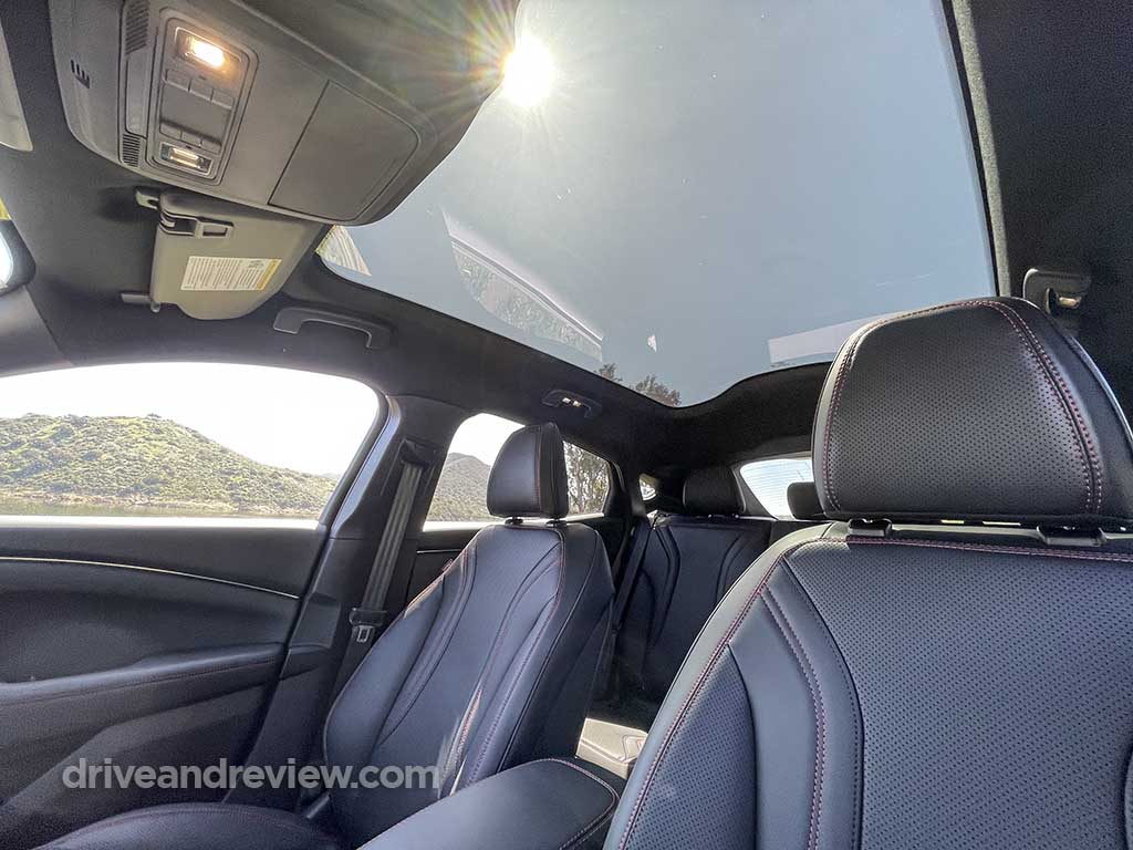 2021 Ford Mustang Mach E fully transparent roof